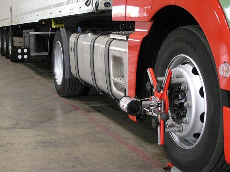 truck mobile wheel alignment